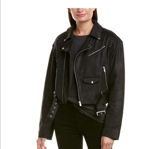 The kooples faux leather cloth jacket